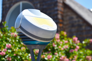 BloomSky Weather station outdoors