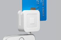 Square EMV reader on an iPhone