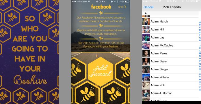 Beehive screenshots