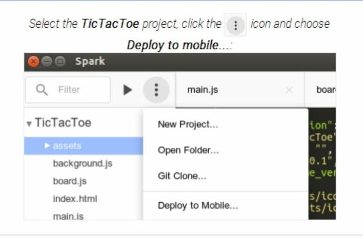 Chrome Dev Editor mobile deploy