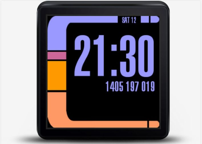Star Trek LCARS Android Wear