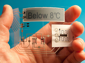 Thinfilm sensor smart tag
