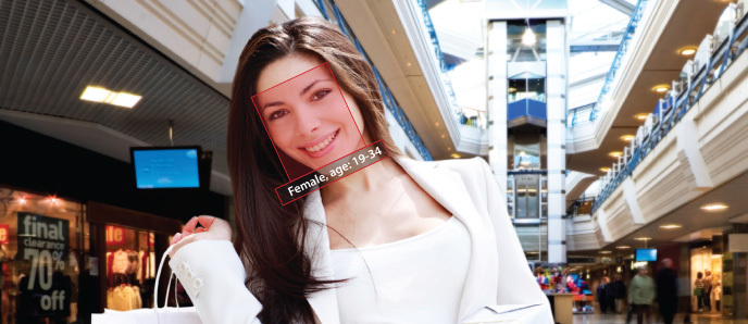 A marketing photo for Intellios VisiScanner product.