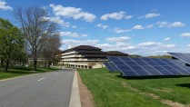 One of Verizon's solar panel projects, image courtesy of Verizon.