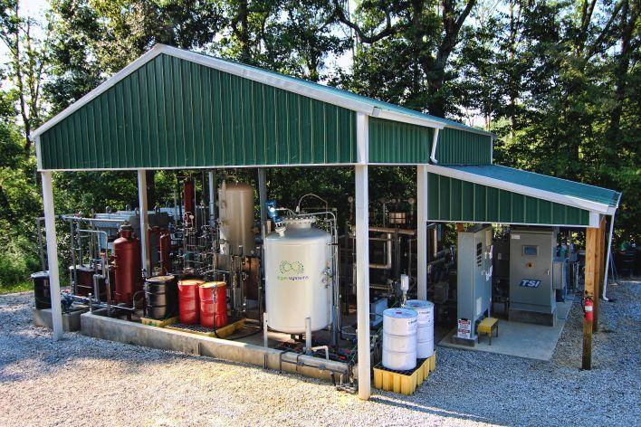 Part of Algae Systems' plant in Daphne, Alabama. Image courtesy of Algae Systems.