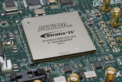 An Altera FPGA.