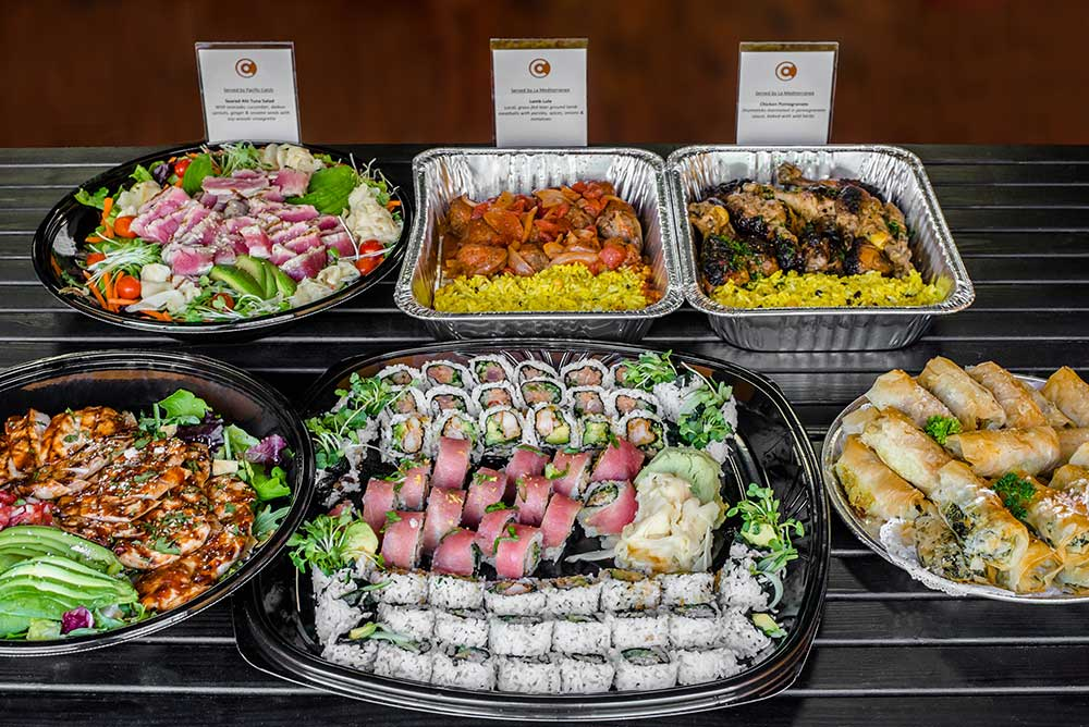 Caviar Catering delivery