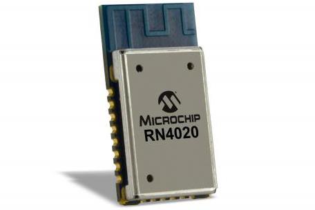CSR Microchip Bluetooth module RN4020