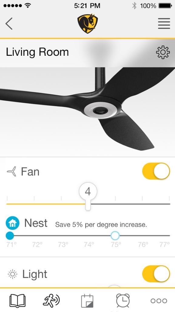 A screenshot of Haiku with SenseME's app that suggests higher Ne