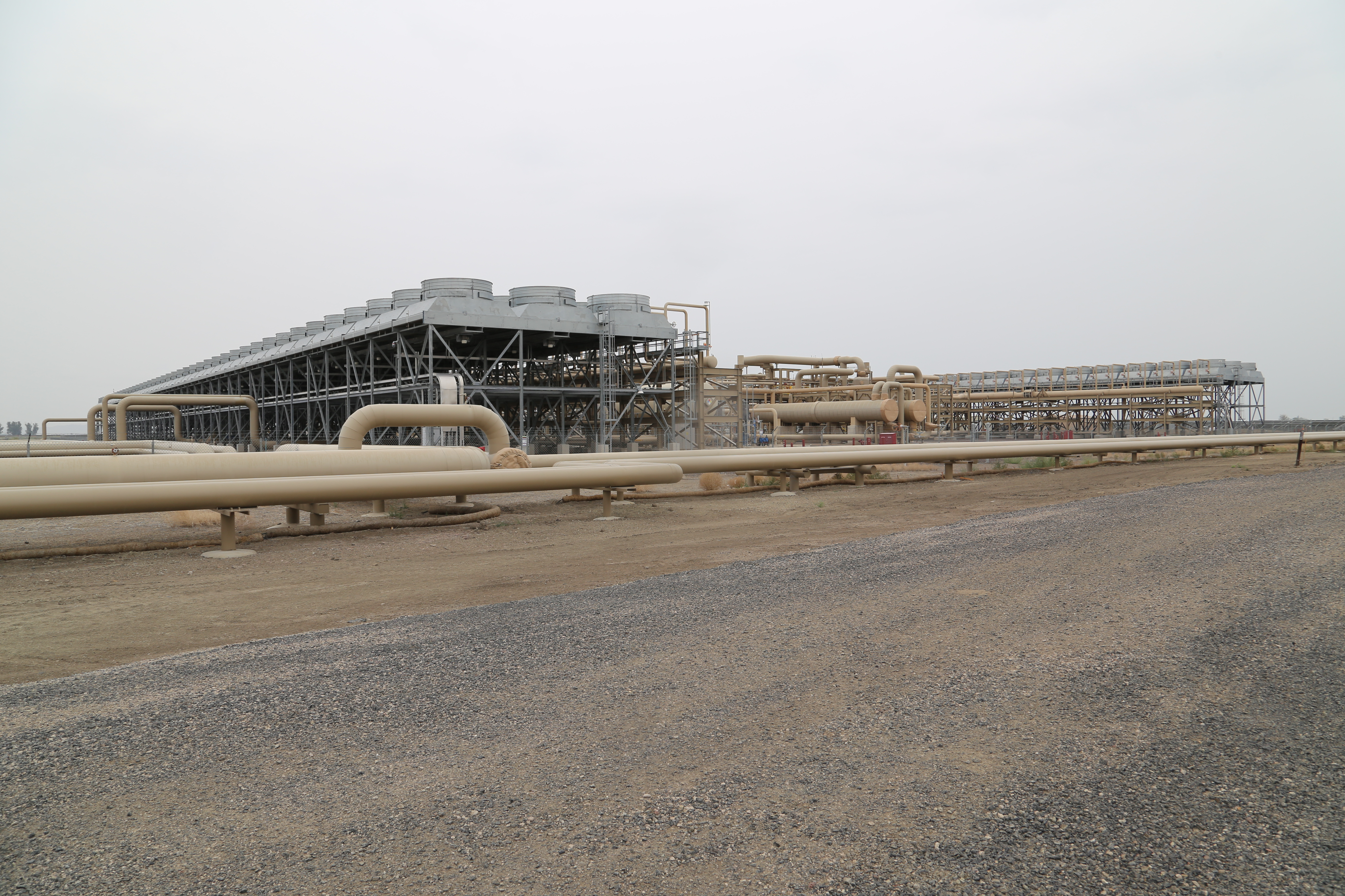The Stillwater geothermal plant uses a binary closed loop system. Image courtesy of Katie Fehrenbacher, Gigaom.