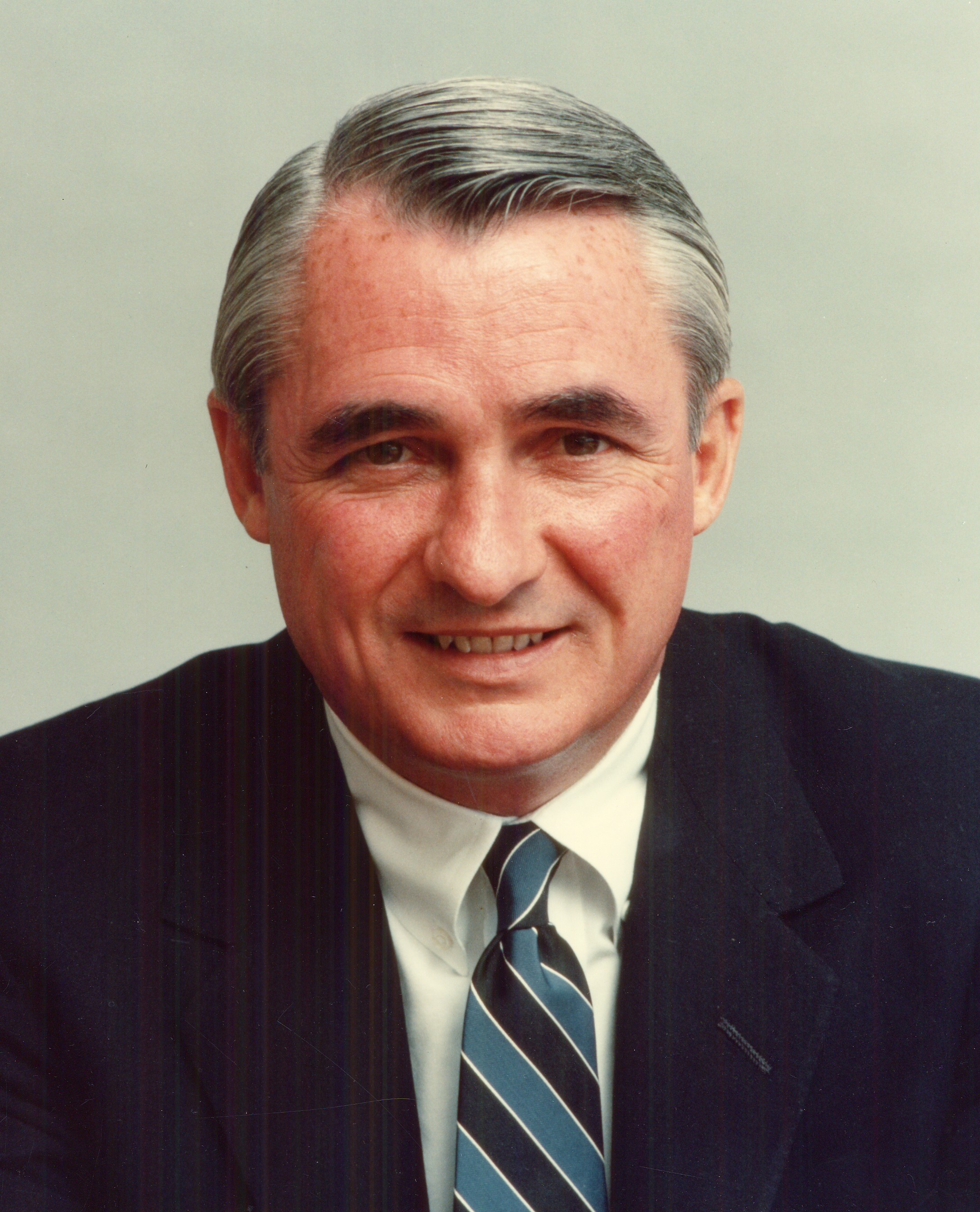 Former IBM CEO and Chairman John F. Akers.