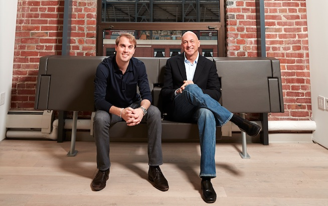 Lookout Founder John Hering (left) and CEO Jim Dolce