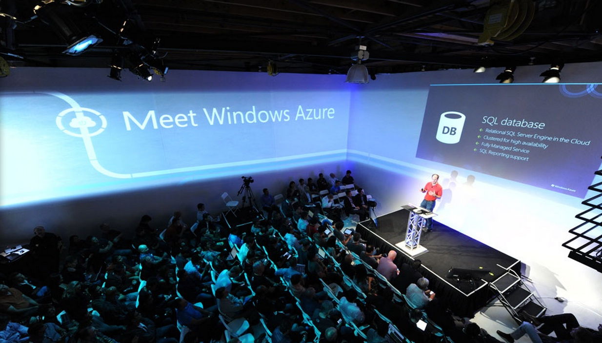 Scott Guthrie at Windows Azure 2012 intro