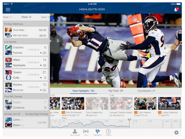 Some features, including the ability to track game highlights, will only be available to paying members.
