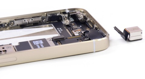 iPhone 5s camera sensor