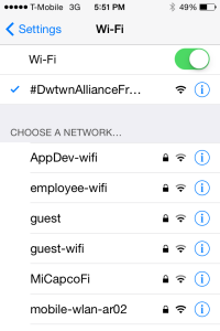 Downtown Wifi