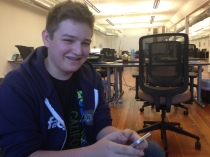 One of Facebook's youngest full-time engineers, Michael Sayman