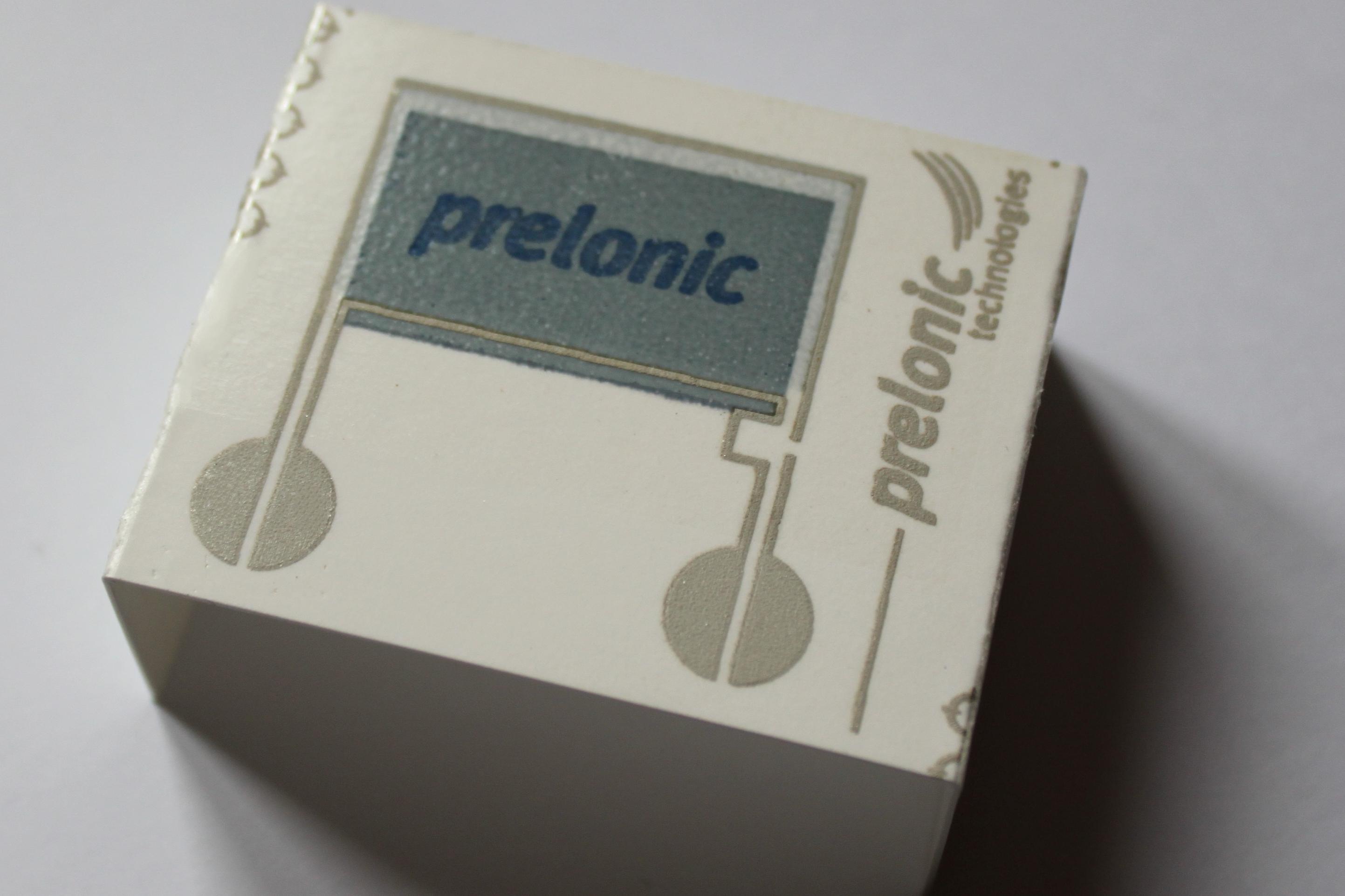 Prelonic cardboard display