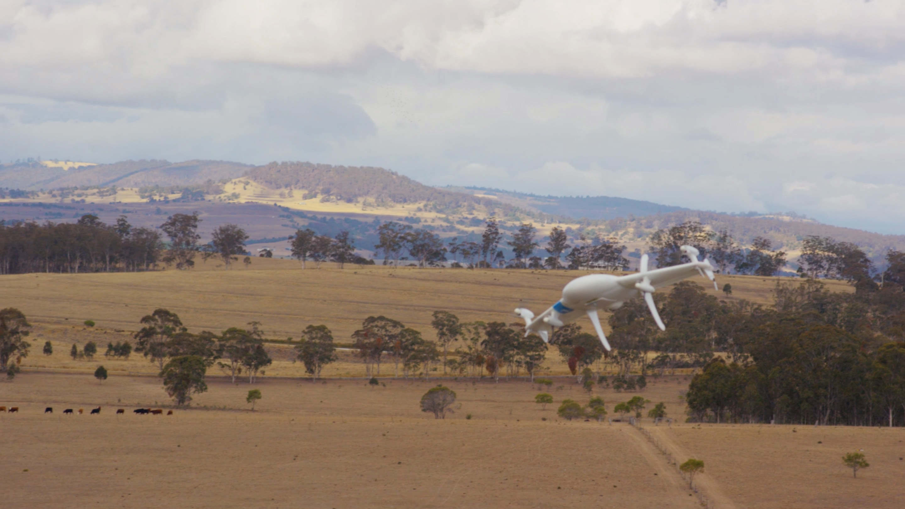 The Project Wing drone. Photo courtesy of Google.