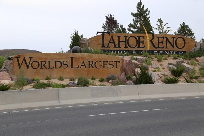 The Tahoe Reno Industrial Center. Image courtesy of Katie Fehrenbacher, Gigaom.