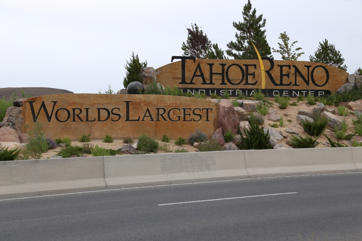 The Tahoe Reno Industrial Center. Image courtesy of Katie Fehrenbacher, Gigaom.