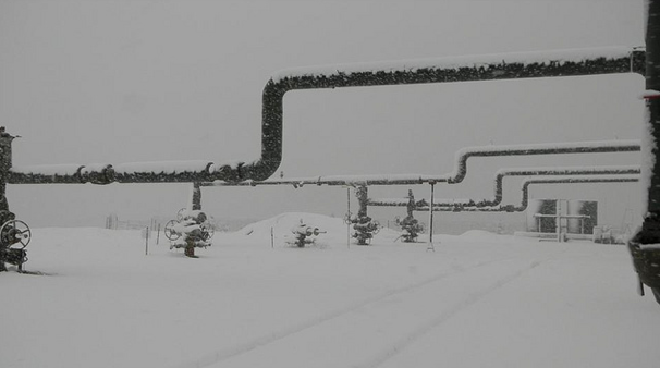 The Bottle Rock Power Plant in the winter, just north of Napa Valley. Image courtesy of Geo Thermal.