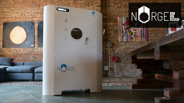 The Norge 3D printer. Photo courtesy of Norge.