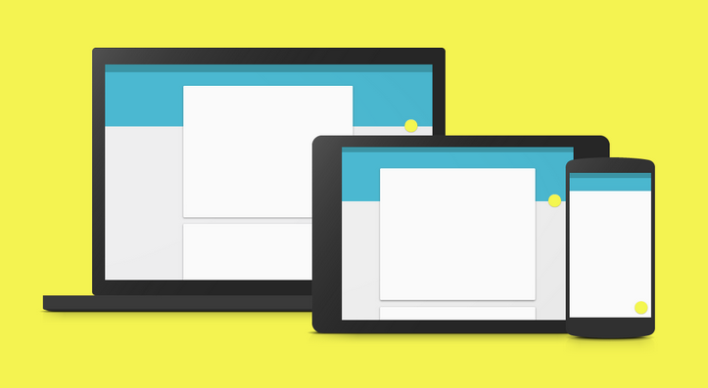 Google's Material Design language