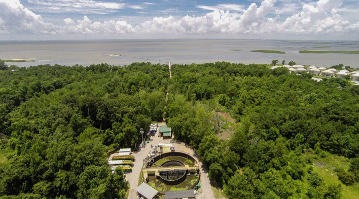 Algae Systems' pilot plant in Daphne, Alabama. Image courtesy of Algae Systems.