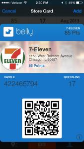 Belly 7-Eleven Screenshot