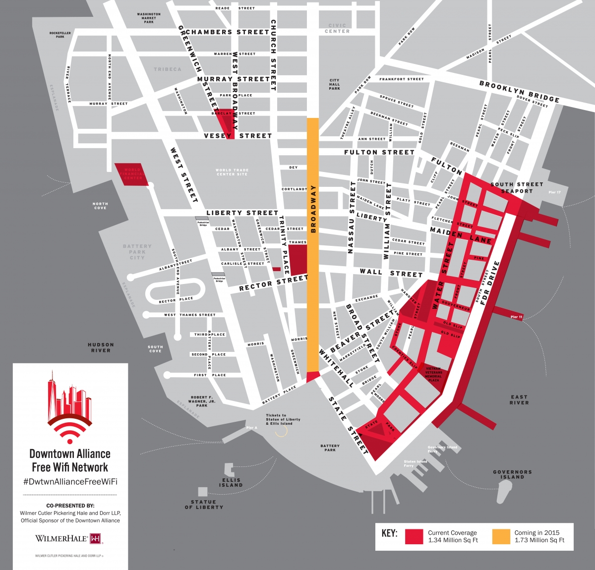 wall street wifi map