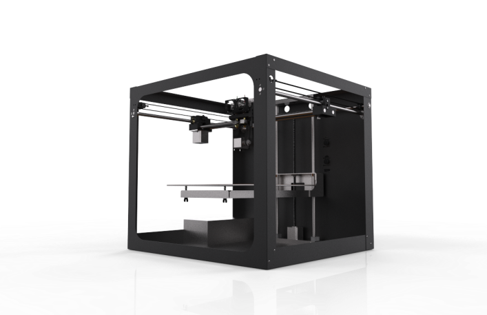 The Solidoodle Workbench 3D printer. Photo courtesy of Solidoodle.