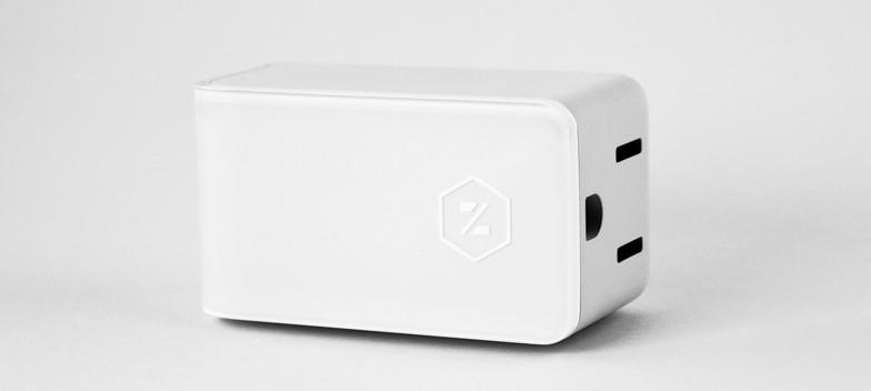 The Zuli smart outlet.