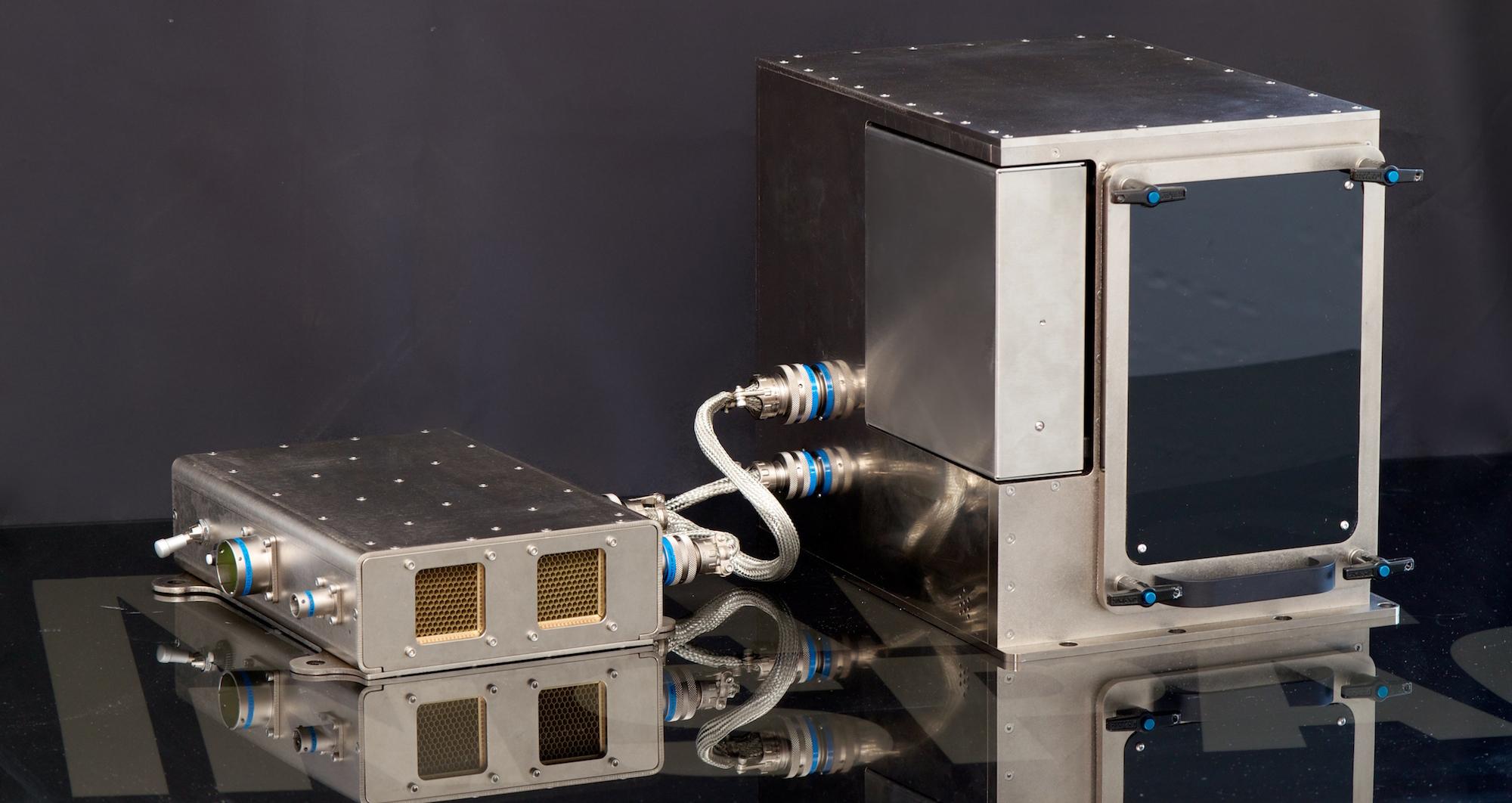 Made in Space 3D printer September 2014