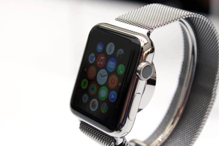 Apple Watch. Photo by Tom Krazit/Gigaom