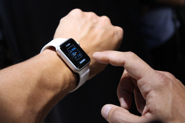 Apple Watch. Photo by Tom Krazit/Gigaom