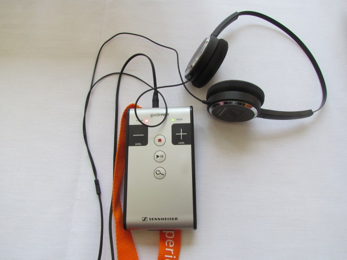 Sennheiser's GuidePort (Photo: Kevin Fitchard)