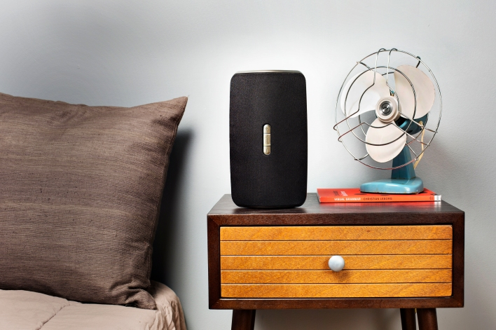 Polk's S2 speaker, which is powered by Play-Fi.