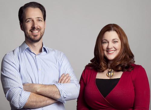 Conjur's Co-founders Kevin Gilpin and Elizabeth Lawler