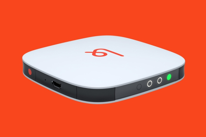Karma's LTE hotspot is pocket-sized and easily portable, but Karma may well have a more powerful router planned for your home (source: Karma)