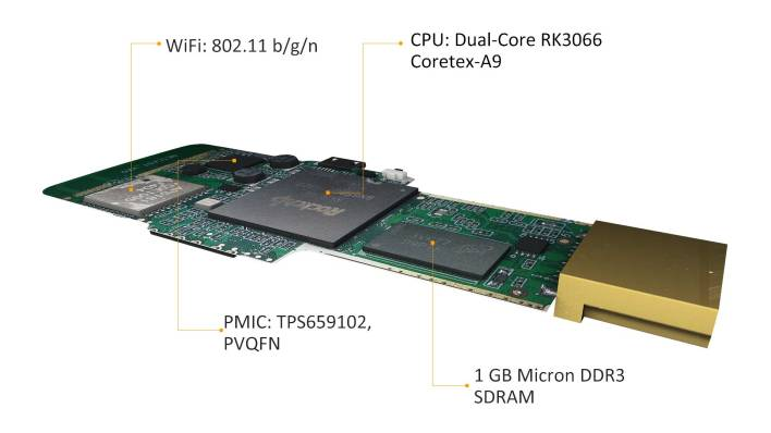 Matchstick comes with 1GB of RAM and 4GB of SDRAM.