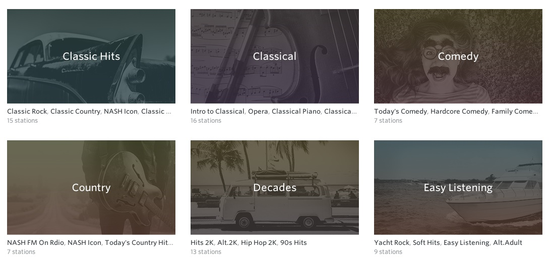To make itself more attractive to new users, Rdio also hired a bunch of in-house curators to build around 100 curated radio stations.