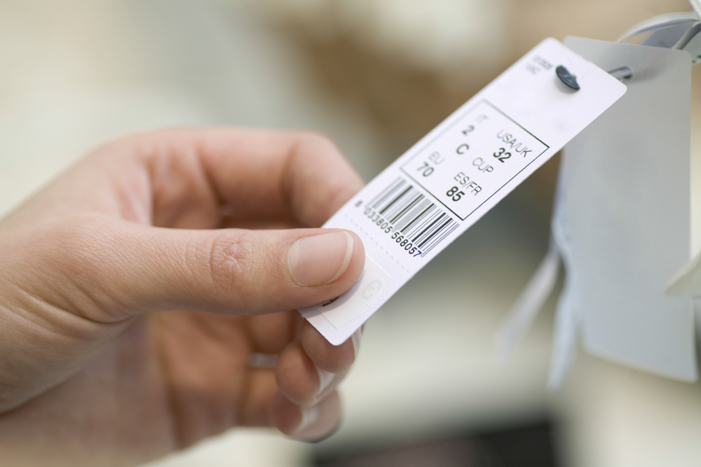 price tag generic