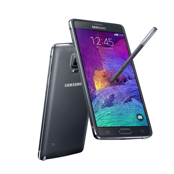 Galaxy Note 4 charcoal black