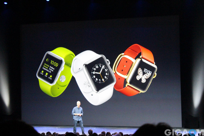 Apple Watch launch event