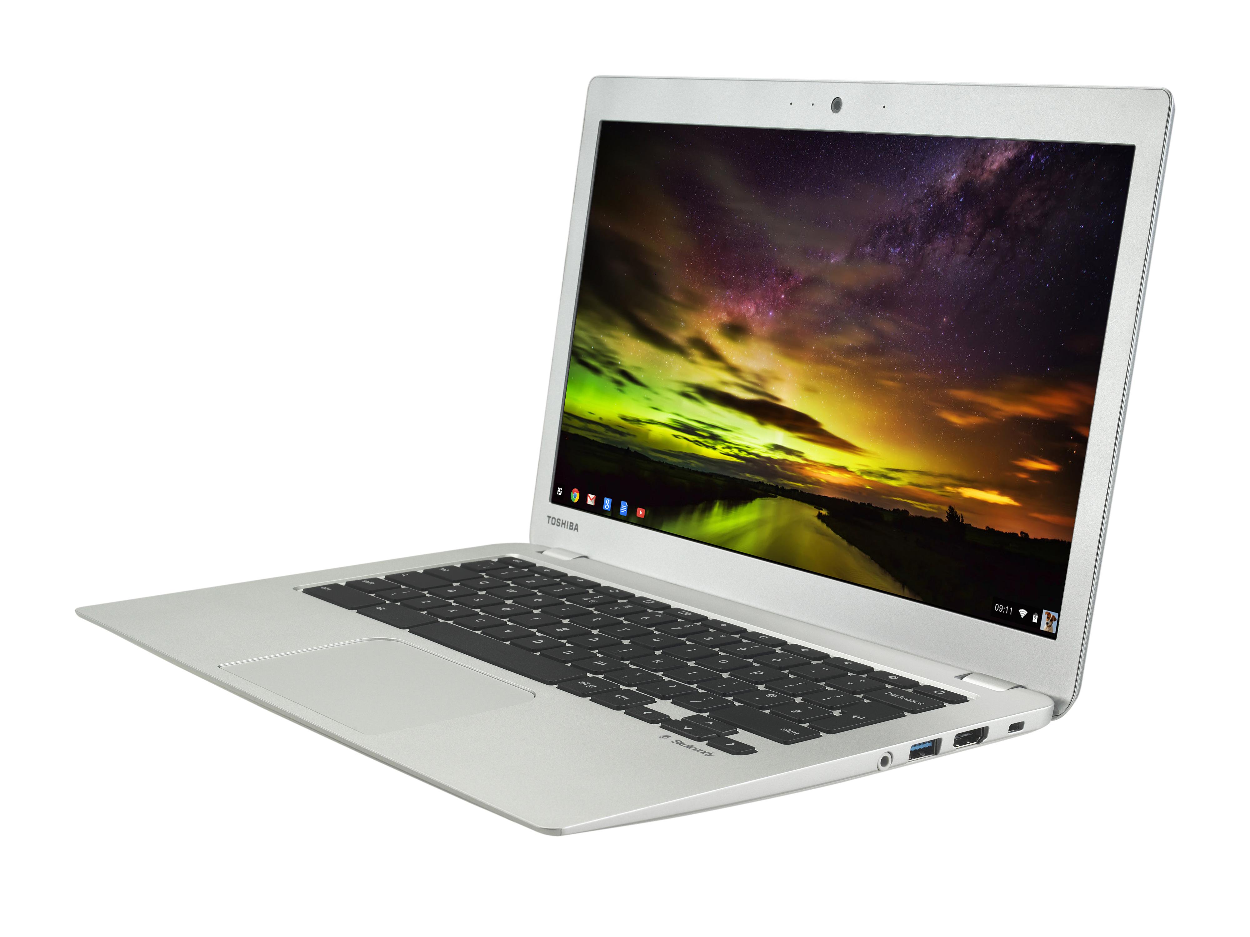 Toshiba Chromebook 2 angle