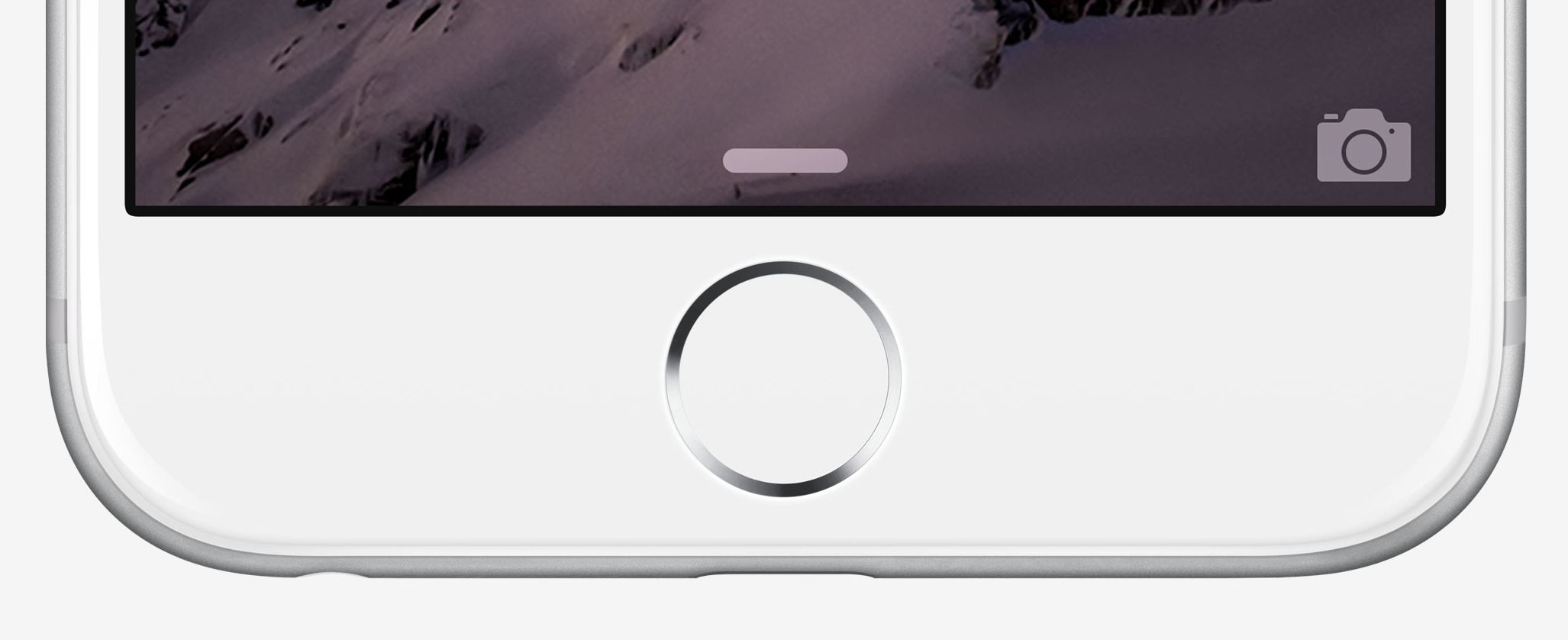 double tap home button iphone