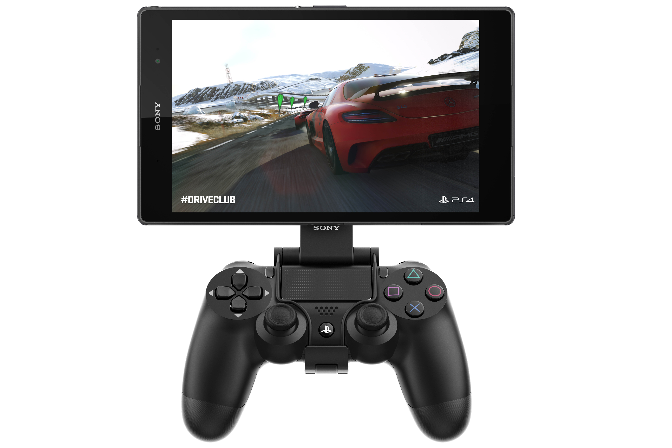 Z3 tablet Compact with PS4 controller