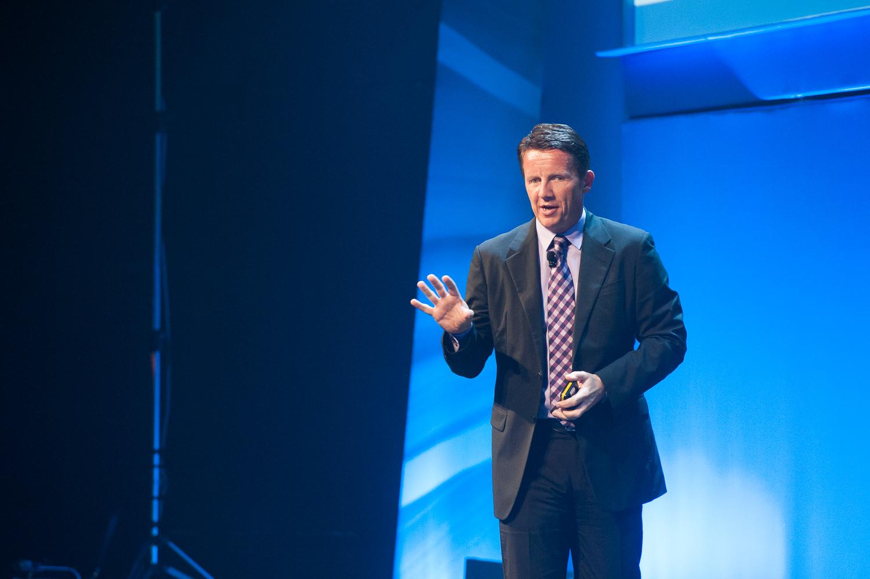 Jeremy Burton, EMC president of product and marketing.