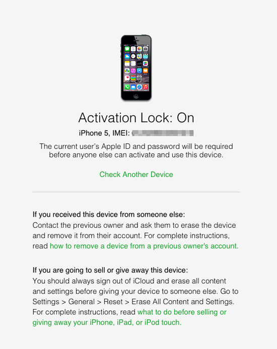 Gigaom How To Check If An Iphone Is Stolen